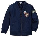Petit Lem Zip Up Woven Jacket (Toddler & Little Boys)