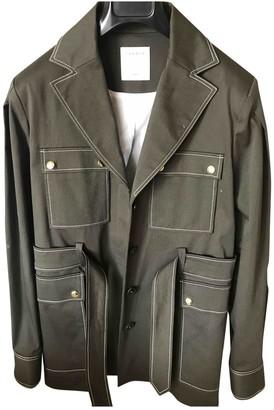 Sandro Spring Summer 2020 Khaki Cotton Coat for Women