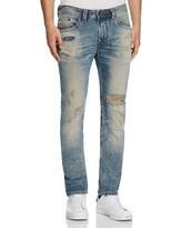 Diesel Distressed Super Slim Fit Jeans in Denim