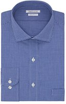 Van Heusen Men's Regular Fit Check Cutaway Collar Dress Shirt