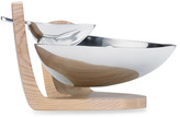 Dansk Torq Metal and White Woods Chip & Dip
