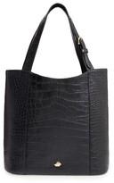 Brahmin Savannah - Brayden Embossed Leather Tote - Black