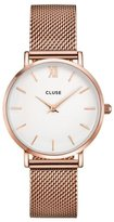 Cluse Women's Minuit Mesh CL30013 Rose Stainless-Steel Quartz Watch