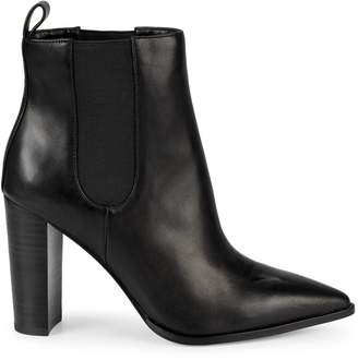 Saks Fifth Avenue Amy Heeled Leather Booties