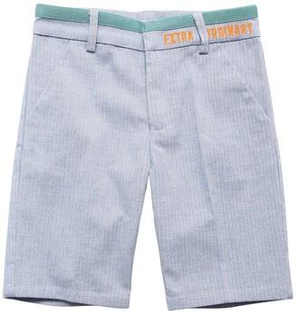 Billybandit Cotton Herringbone Shorts