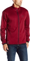 Champion Men's Tech Fleece Jacket, Bordeaux Red/Scarlet