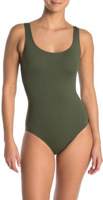Tommy Bahama Laced Back One-Piece Swimsuit