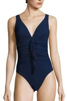 Karla Colletto Swim Reina Silent Ruched One-Piece Swimsuit