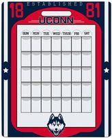 UConn Huskies Dry Erase Calendar