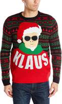 Alex Stevens Men's Klaus Ugly Christmas Sweater