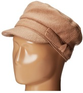 San Diego Hat Company CTH3708 Wool Blend Cabbie with Self Belt Bow Traditional Hats