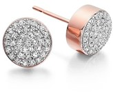 Monica Vinader Women's 'Ava' Diamond Button Stud Earrings