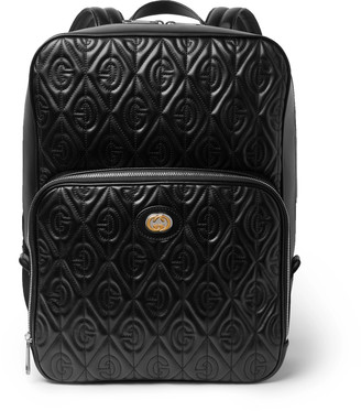 Gucci Mopheus Embossed Leather Bacpack