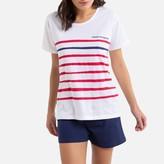 Dodo Maman Baigneuse Short Pyjamas in Striped Cotton