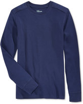 Epic Threads Boys' Long-Sleeve Solid Thermal Shirt, Only at Macy's