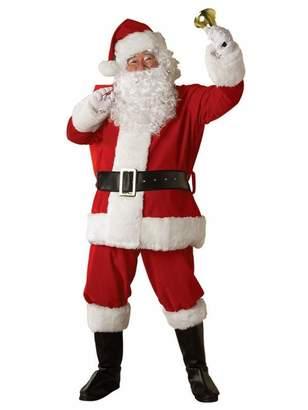 Rubie's Costume Co Costume Regal Plush Santa Suit
