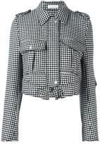 J.W.Anderson houndstooth cropped jacket