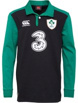 Canterbury of New Zealand Junior Ireland Classic Long Sleeve Alternate Shirt Black