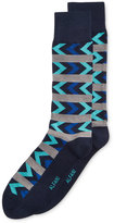 Alfani Men's Side Chevron Stripe Socks, Only at Macy's