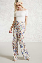 Forever 21 FOREVER 21+ Floral Palazzo Pants