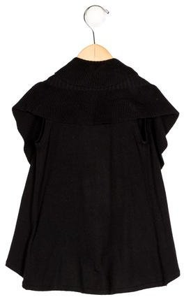 Alice + Olivia Girls' Draped Knit Vest