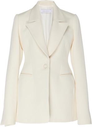 Marina Moscone Cotton-Blend Blazer