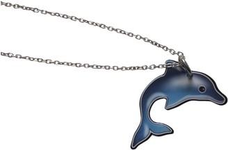 Celine Blue Metal Necklaces