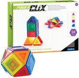 Guidecraft 24-Piece PowerClix® Solids Set