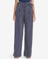 Lauren Ralph Lauren Pinstriped High-Rise Pants