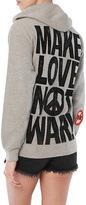 MadeWorn Make Love Not War Zip Hoodie