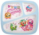 Zak Designs Shopkins Kid's Divided Plate