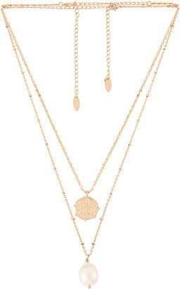 Ettika Layered Pearl Necklace