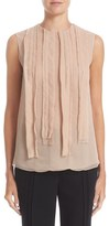 Jason Wu Women's Silk Chiffon Sleeveless Top