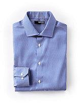 Murano Slim-Fit Long-Sleeve Spread Collar European Dot Sportshirt