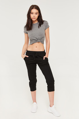 Ardene Cropped Fleece Lined Joggers
