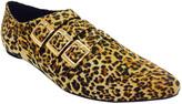 Leopard Diego Buckle Oxford
