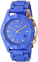 Nixon Women's A2881675-00 Monarch Japanese Quartz Blue Watch
