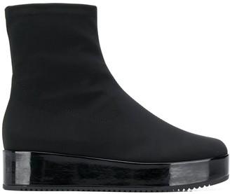 Högl platform sole boots