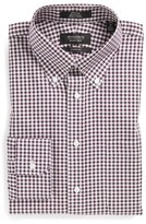 Nordstrom Classic Fit Non-Iron Gingham Dress Shirt (Online Only)