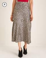 Chico's Chicos Petite Leopard-Print Maxi Skirt