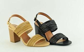 The Divine Factory Women's Lorette Sling Back Sandals