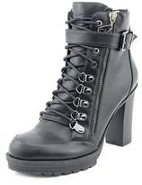 G by Guess Grazzy Women Round Toe Suede Black Ankle Boot.