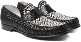 Dolce & Gabbana - Woven Leather Loafers