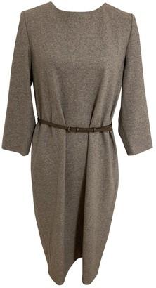 Cappellini Grey Wool Dress for Women