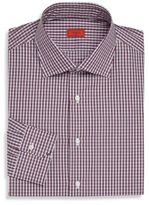 Isaia Check Quadretti Dress Shirt