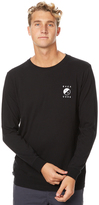 RVCA Yin And Yang Ls Mens Tee Black