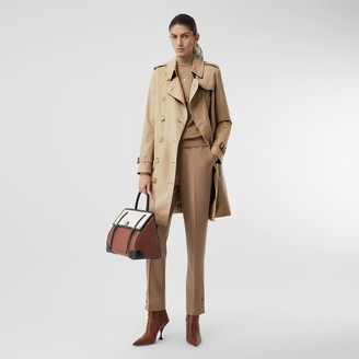 Burberry The Mid-length Kensington Heritage Trench Coat