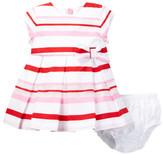 Kate Spade Multi Stripe Dress & Bloomer Set (Baby Girls)