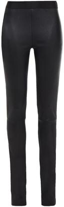 Ann Demeulemeester Stretch-leather Leggings