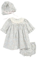 Luli & Me Infant Girl's Dress, Hat & Bloomers Set
